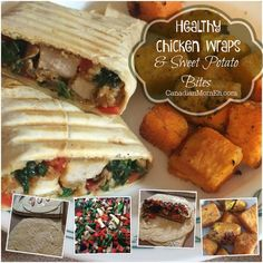 Quick and Healthy Chicken wraps #recipe – CanadianMomEh.com