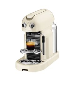 Buy Cream Nespresso Maestria Coffee Machine by Magimix from our View All Coffee Machines range at John Lewis & Partners. Latte Coffee Maker, Cappuccino Maker, Coffee Barista, Coffee Scrub, Espresso Coffee, Starbucks Coffee, Black Coffee, Hot Coffee, Iced Coffee