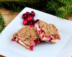 Beki Cook's Cake Blog: Cranberry-Gingerbread Cheesecake Bars {Recipe}