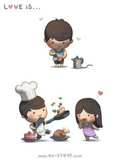 aw babe, you alone then with me happy and cooking a lot of things all over the place! lol