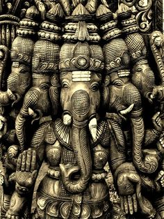 Learn about Ganesha, the Hindu god of success, wealth, and new beginnings. Discover what the deity Ganesha represents in Hinduism. Indian Gods, Indian Art, Religions Du Monde, Buddha, Lord Ganesha, Shri Ganesh, Ganesh Statue, Hanuman, Hindu Art