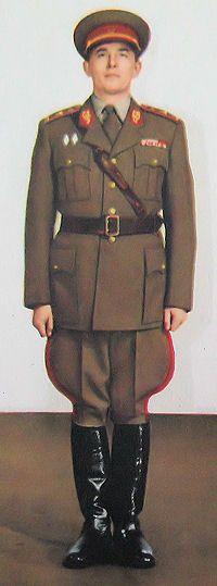 1959 pattern generals' everyday service uniform of the Czechoslovak People's Army (ČSLA)