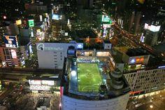rooftop football tokyo