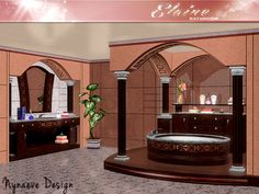 Elayne Bathroom by NynaeveDesign - Sims 3 Downloads CC Caboodle
