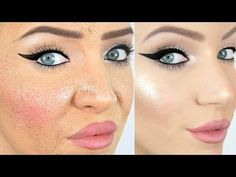 How to Avoid Thick, Cakey Foundation! Today I'm going to show you how to achieve perfectly flawless foundation every time and how to avoid your foundation lo...