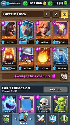 My deck that destroyed arena 8. If you don't have the Ice Wizard, maybe replacing it with Archers, Spear Goblins or even an Ice Spirit