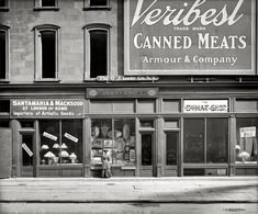 Shorpy Historical Photo Archive :: Veribest Canned Meats: 1900