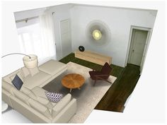 3D Room Design Tool Based on Photos of Your Actual Room