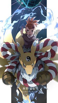 Pokemon Vs Digimon, Digimon Crests, Digimon Tamers, Digimon Adventure Tri., Digimon Wallpaper, Digimon Digital Monsters, Handsome Anime Guys, Fandom, Manga Comics