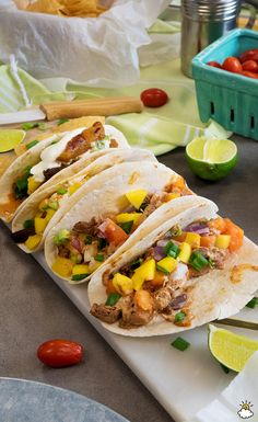 Tropical Tacos: Add Fruit To Your Tacos To Create A Sweet And Savory Mix
