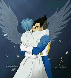 Bulma and Vegeta (RIP Hiromi Tsuru, Japanese voice of Bulma who passed away from aortic dissection on Dragon Ball Gt, Dragon Ball Z Shirt, Dbz Vegeta, Dbz Characters, Dragon Pictures, Shadow Art, Attack On Titan Anime, Kawaii Anime, Manga