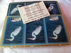 Congress 1951 Vintage Playing Cards Three Pack Samba Crane Original Box | eBay