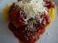 Spaghetti Squash with Quick Pasta Sauce
