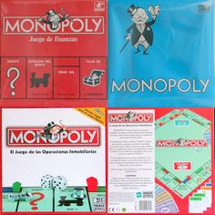 Monopoly Madrid y Barcelona