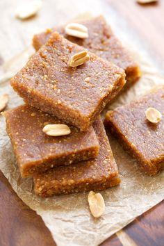 Peanut Butter Cookie Energy Bars | GI 365