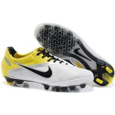 add4d11b9ad5b Sole Nike CTR360 Maestri II FG White and Yellow Soccer Cleats Cheap Soccer  Shoes
