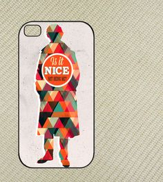 Sherlock Is it Nice Quotes Iphone 4 case,