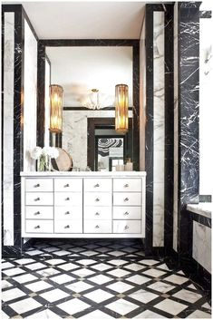 black white powder room exquisite craftsmanship using the finest of marble materials