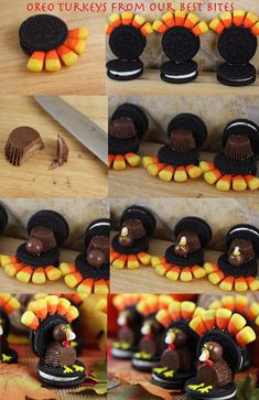 These delicious 2015 Thanksgiving chocolate cookie can make you scream ! - Fashion Blog