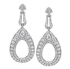 Ivanka Trump Diamond Earrings - Ivanka Trump - Featured Designers - Fine Jewelry - $48,000