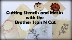 Scrapbook Soup 403-1; Making a Card Using Custom Stencils and Masks | Craft Test Dummies