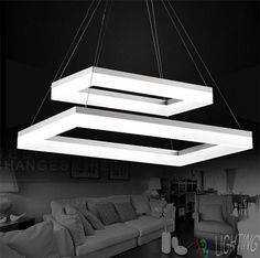 Cheap Led Pendant Light Buy Quality Lights Directly From China For Suppliers Modern 2 Rectangle LED Dining Room Acrylic