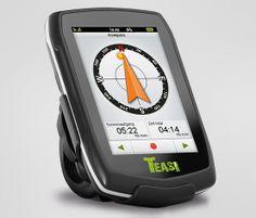 TEASI-one-Fahrrad- und -Wander-Navigationsgerät