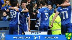 Wednesday 5-1 Norwich