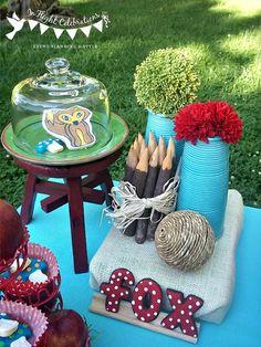 Woodland Fox Theme Party Ideas