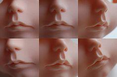 Carving #7 (simply hagata) Tags: nose carved mod doll carving lips lip blythe neo custom modification takara rbl simplyhagata