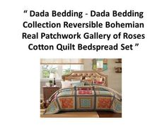 I think you will like this DaDa Bedding Patchwork Bedspread Set produced by DaDa Bedding Collection – Blue Denim Elegance Cotton Quilted 3 piece Quilted Cott...