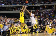 U Of M Basketball, University Of Michigan Basketball, Michigan Athletics, Michigan Wolverines Football, Basketball Equipment, College Basketball, Michigan Gear, Michigan Go Blue, Trey Burke