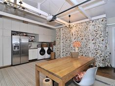 Functional and stylish garage conversion. #home #decor #remodel #ideas