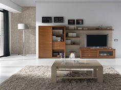 Muebles de salones ZOE y NONA, Salones Comedores Contemporáneos de la firma Loyra mobiliario