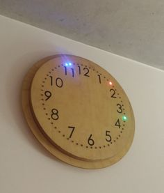 How I built my Arduino LED Clock – Henrik Berkmann can find Led and more on our website.How I built my Arduino LED Clock – Henrik Berkmann Arduino Cnc, Arduino Wireless, Arduino Laser, Arduino Programming, Arduino Board, Led Diy, Gadgets, Arduino Display, Paper Flowers