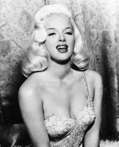 Diana Dors, the English equivalent of Marilyn Monroe. She is gorgeous!