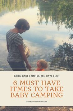 Need ideas of what to bring when taking baby camping? Check out these baby camping ideas and items that made my outdoor time SO much easier and enjoyable! Baby Camping   Camping with kids   Camping gear for kids   Camping tips #campingideaskids