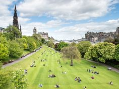 Edinburgh, Scotland - Beloved for its endless green hills and fascinating history, Edinburgh is a distinctive capital in Western Europe. Where else can you find a medieval Old Town, extinct volcano, and regal castle in one city? —K.L.