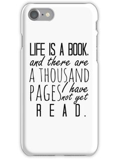 "Life is a book. - Will Herondale Quote iPhone 7 Snap Case accessories quotes '""Life is a book."" - Will Herondale Quote' iPhone Case by wessaandjessa Funny Phone Cases, Iphone Cases Quotes, Art Phone Cases, Ipod Cases, Phone Covers, Book Phone Case, Friends Phone Case, Will Herondale Quotes, Best Friend Cases"