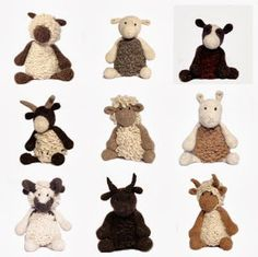 Loving Edward's Menagerie by Kerry Lord at TOFT Alpaca Shop