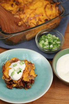 How to make chili cheese hot dog casserole (video)