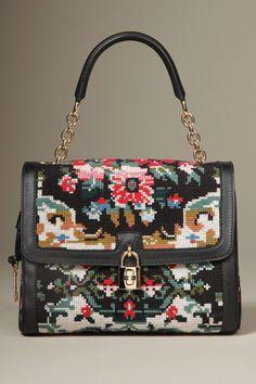 I love this Baroque influenced Dolce & Gabbana bag!