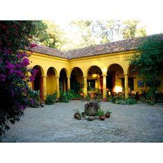 Hotel-Museo Casa Na Bolom, San Cristobal de las Casas, Chiapas -... ❤ liked on Polyvore