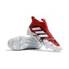 Compras Botas De Futbol Adidas ACE 17+ Purecontrol Confed Cup FG Blanco Rojo 2f30546636dda