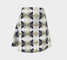 """Flare Skirt """"Carbon"""" by Juca's Store"""