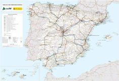 ✅ El Área de Cartografía Temática y Atlas Nacional ha llevado a cabo la revisión y actualización del Mapa de la Red Ferroviaria Española, en formato mural, a escala 1:1.125.000. ➡️ Este mapa es una petición del Administrador de Infraestructuras Ferroviarias (ADIF), organismo con el que el Atlas Nacional de España (ANE) lleva colaborando muchos años con beneficio para ambas partes: @adif_es proporciona al ANE información sobre las infraestructuras ferroviarias estatales 🚉. Diagram, Cabo, World, Maps, Princesses, 21st Century, Illustrations, Trains, The World