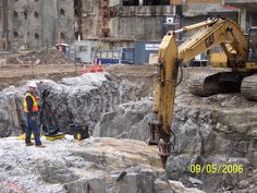 The very first filming in 2006 - the building of the New Trade Center begins! #worldtradecenter #newyork #rebuilding #rebuildingmovie #tradecenter