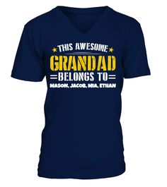 # Awesome Grandad - Custom Shirt .  Available for a Limited Time Only!Guaranteed safe checkout:PAYPAL|VISA|MASTERCARDClick the greenbutton to pick your style, size, colour &order!