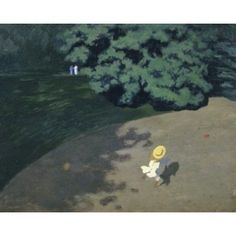 The Ball (Corner of the Park Child Playing With Ball) 1899 Felix Edouard Vallotton (1865-1925 Swiss) Musee dOrsay Paris France Canvas Art - Felix Edouard Vallotton (18 x 24)
