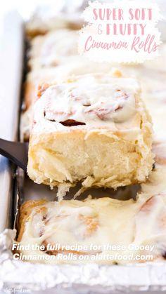 Cinnamon Roll Icing, Cinnamon Bread, Best Cinnamon Roll Recipe, Cinnamon Roll Pancakes, Cinnamon Sticks, Donut Recipes, Baking Recipes, Bread Recipes, Cupcakes